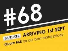 Special Deals on New #68 Plates