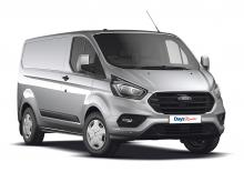 Transit Custom Weekend Hire only £95 all inclusive