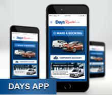 Image for Days Rental Launch Mobile App