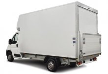 3.5t Box Van Tail Lift