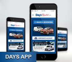 Day's App - Day's Rental