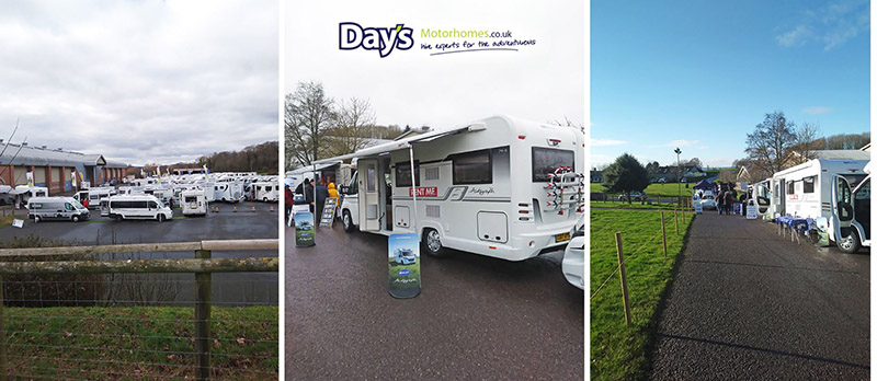 Image for Day's Motorhomes display at The Motorhome Show, Westpoint Exeter