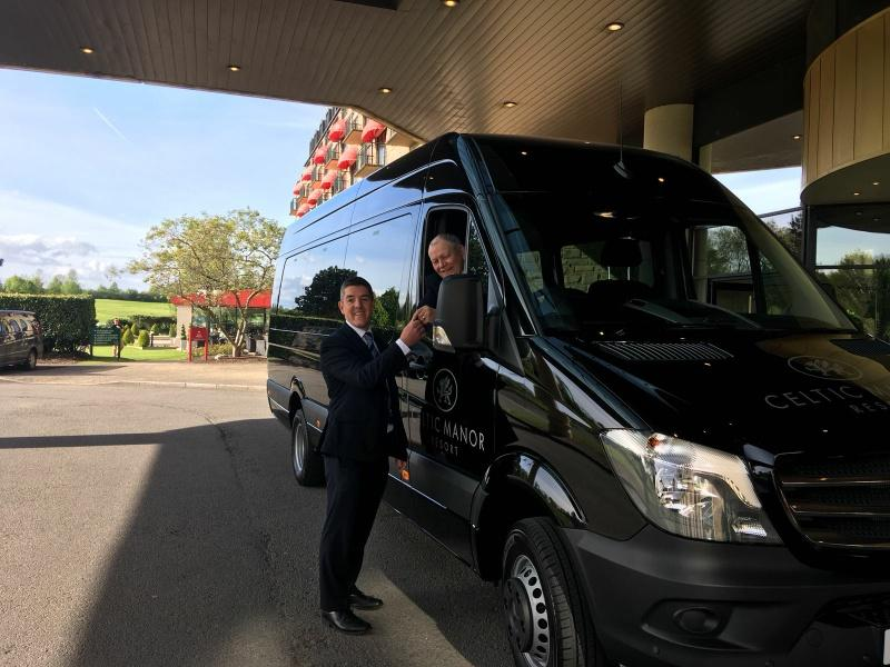 Image for Celtic Manor Resort Collect 5 New Minibuses