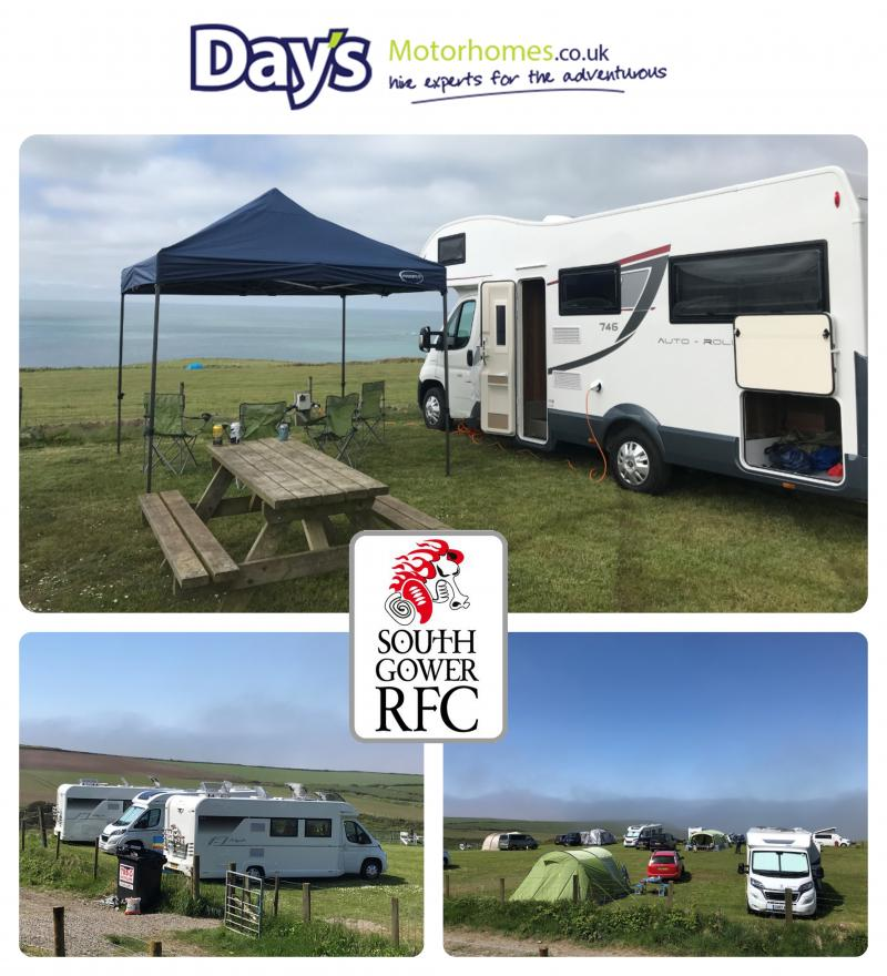 Image for South Gower RFC tour with Day's Motorhomes vehicles