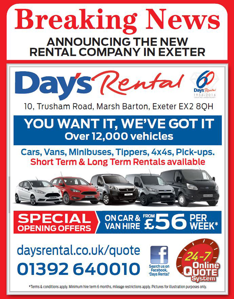 Image for Announcing The New Rental Company In Exeter