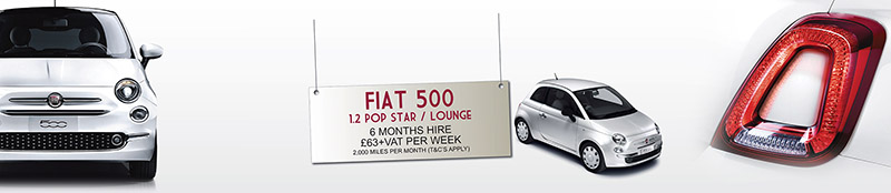 Image for Fiat 500 Special Offer