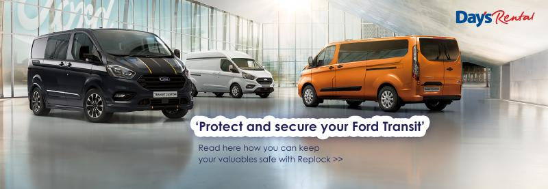 Image for Protect & secure your Ford Transit