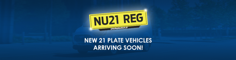 Image for New 21 Plate Hire Vehicles Coming Soon