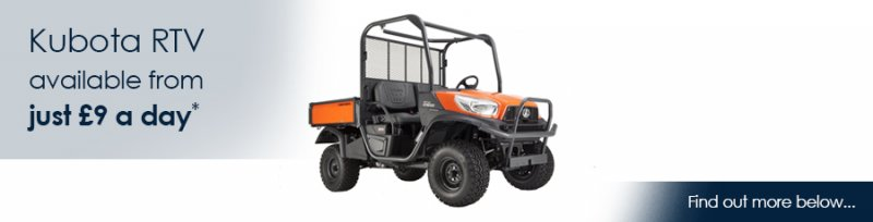 Image for Kubota RTV - Now Available to Hire