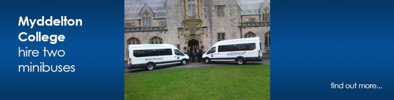 Image for Myddelton College Hire Two Minibuses