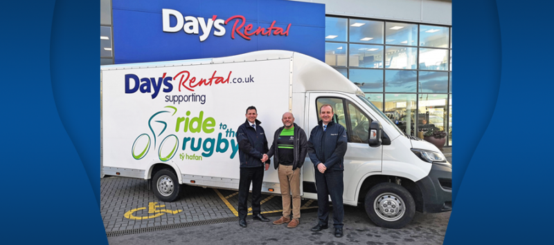 Image for Proud to Support Ty Hafan's 'Ride To The Rugby' Fundraiser