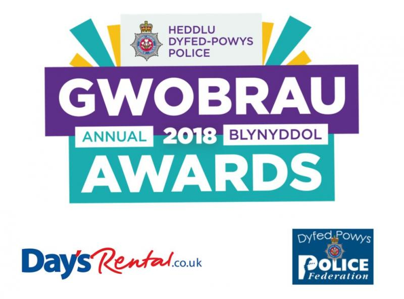 Image for  Proud Sponsors of Dyfed Powys Police Awards, 2018